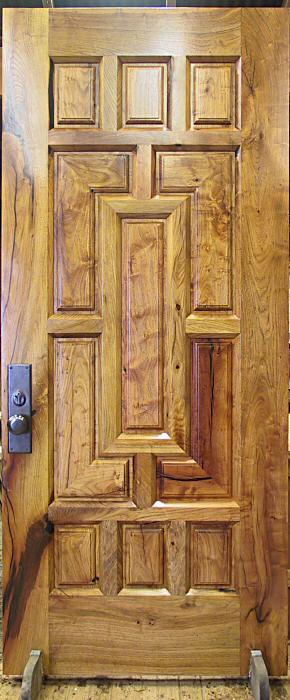 completed mesquite door & Current Work 2005 - WGH Woodworking pezcame.com
