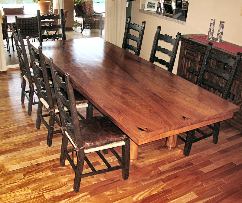 Perfect The Dining Room Table Is In The Finishing Stage But I Did Take A