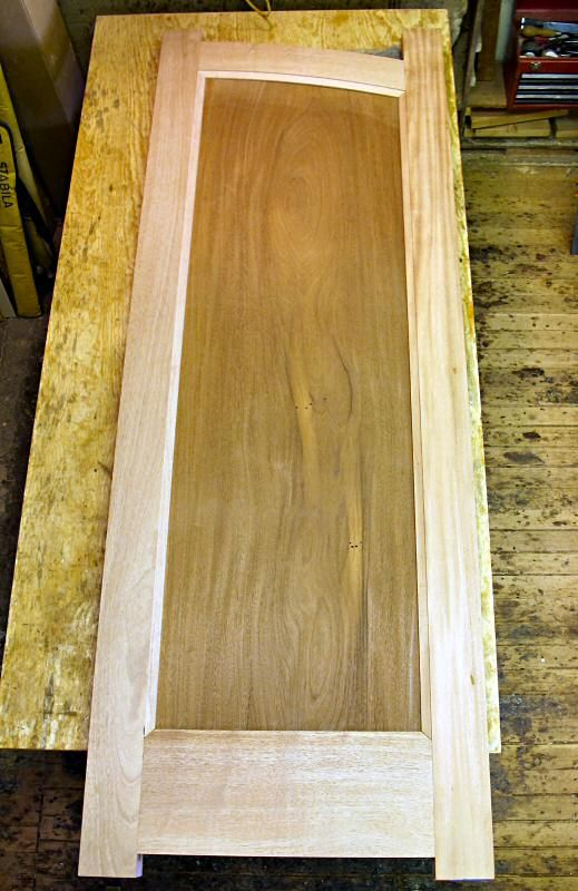 dry fit mahogany door