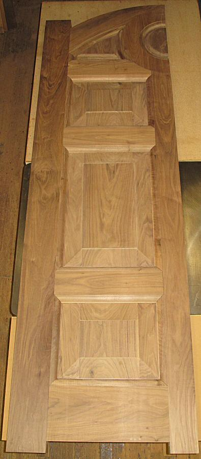 dry fit walnut door