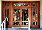 Craftsman Style Church Doors