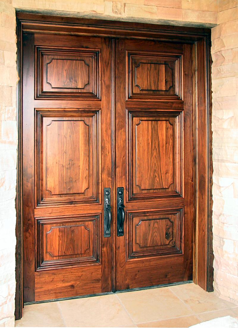 200 Year Old Walnut Doors Wgh Woodworking