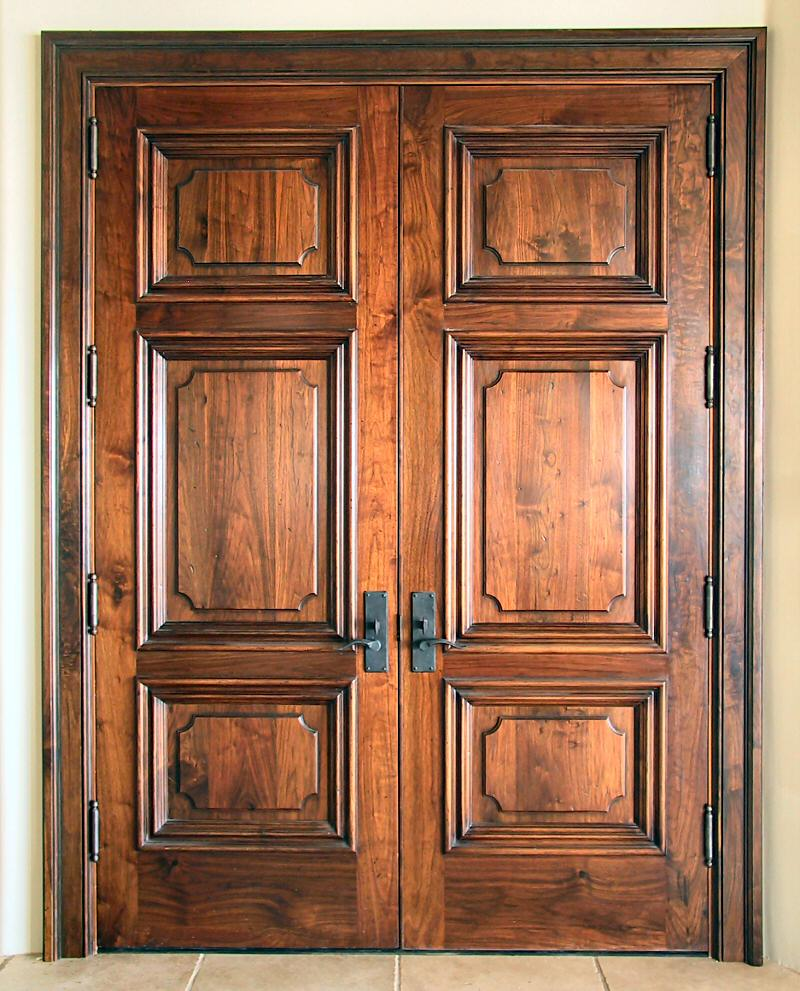 200 Year Old Walnut Doors WGH Woodworking - Old Interior Doors - Interior Ideas