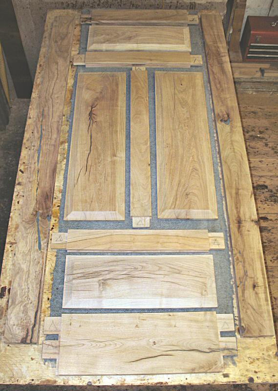 Exploded view of a mesquite door & 4 Panel mesquite Door - WGH Woodworking pezcame.com