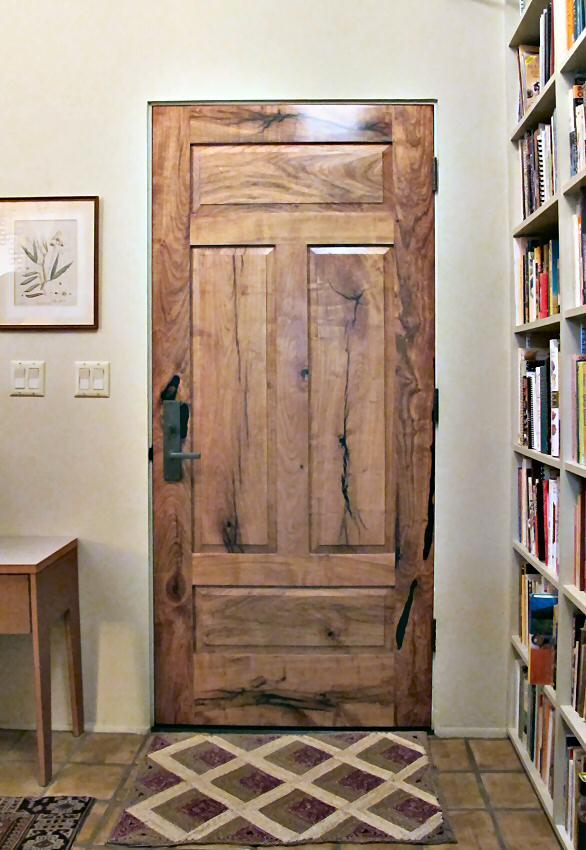 & 4 Panel mesquite Door - WGH Woodworking