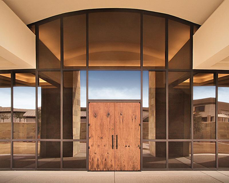 Casas Barrier Chapel Mesquite Doors & Casas Barrier Chapel Mesquite Doors - WGH Woodworking