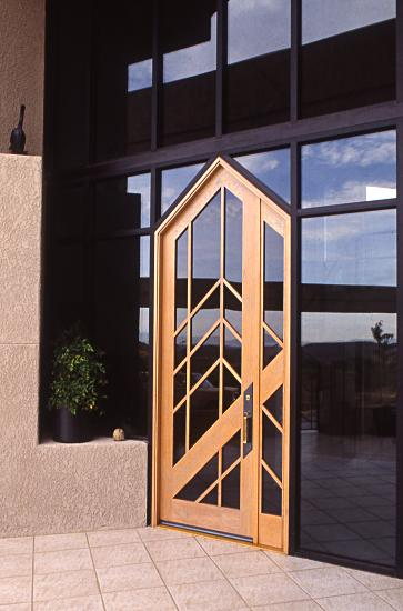 Superieur Contemporary Door With Tinted Glass
