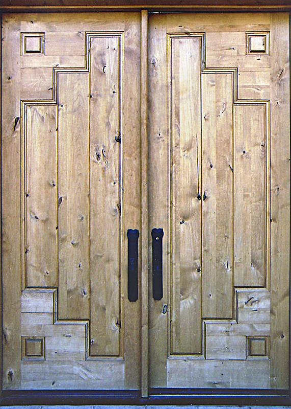 Elegant Mesquite Entry Doors Wgh Woodworking