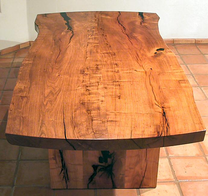 Bookmatched Mesquite Table Top