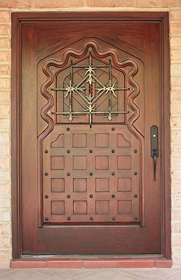 Moorish style door & Moorish Style Entry Door - WGH Woodworking pezcame.com