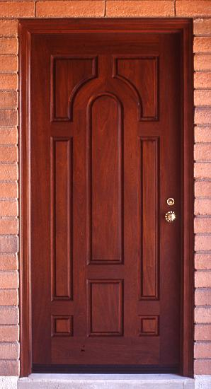 Spanish style mahogany door wgh woodworking for Cheap back doors