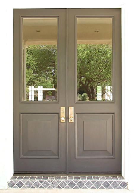 9\u0027 tall doors with beveled glass
